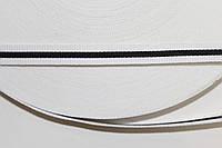 ТЖ 10мм репс (50м) белый+черный, фото 1