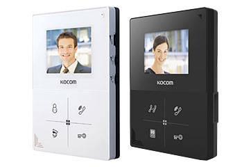 Видеодомофон Kocom KCV-401EV Black