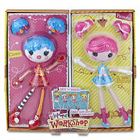 Кукла-конструктор Фабрика Лалалупси Lalaloopsy Workshop Балерина и клоун, 30см