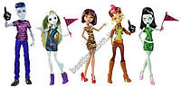 Набор из 5 кукол Монстр Хай - Мы Монстры! Monster High We Are Monster High Student Disembody Council Doll Set