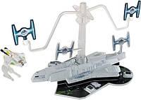 "Трек Хот Вилс Звездные воины ""Транспортник Звездных повстанцев"", Star Wars Starship Rebels Transport Attack"