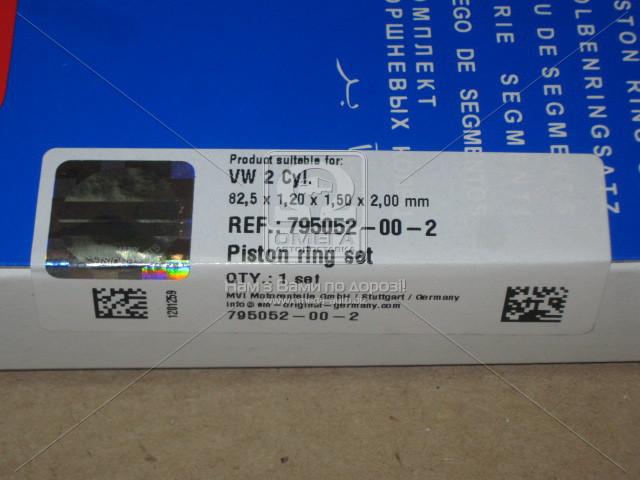 Кольца поршневые AUDI (Ауди) 82,51 A6 2.8 V6 AMX / APR / AQD / ATX (пр-во SM)