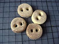 Декоративные пуговицы из биокерамики