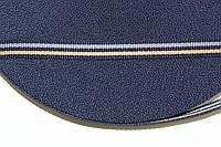 ТЖ 10мм репс (50м) т.синий+т.беж+св.серый, фото 1