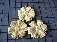 Васильки из биокерамики