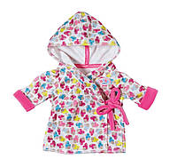 Одежда для кукол Беби Борн халатик Baby Born Zapf Creation 822463