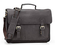 Кожаный мужской портфель TIDING BAG G8870 черный