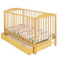 Детская кроватка Klups Radek II (с ящиком) Сосна
