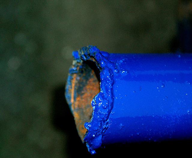 синяя краска в баллончике, аэрозоле для метала, пластика, дерева, керамики