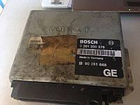 Блок управления двигателем  Опель вектра а Bosch 0 261 200 376 GM 90 351 648
