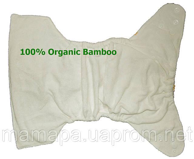 Подгузники трусики многоразовые бамбук орагнический, TPU