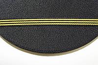 ТЖ 10мм репс (50м) черный+желтый , фото 1
