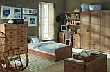 Кровать односпальная JLOZ 90 Индиана  (BRW/БРВ Украина) 975х2065х495/795мм, фото 6