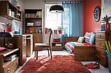 Кровать односпальная JLOZ 90 Индиана  (BRW/БРВ Украина) 975х2065х495/795мм, фото 4