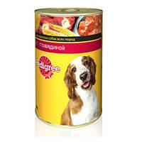 Pedigree (Педигри) консерва С говядиной для взрослых собак всех пород 400 г