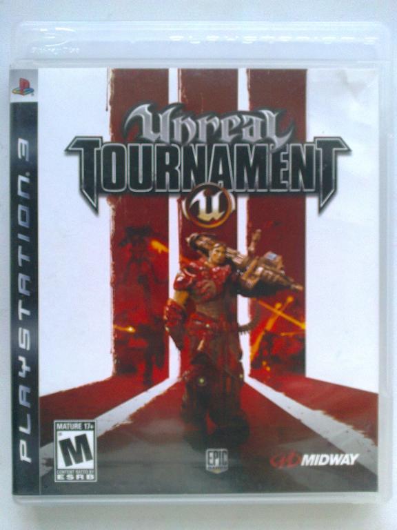 Видео игра Unreal Tournament 3 (PS3)