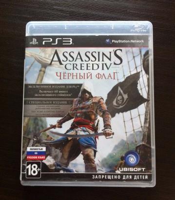 Assassins Creed 4 (PS3) рус.