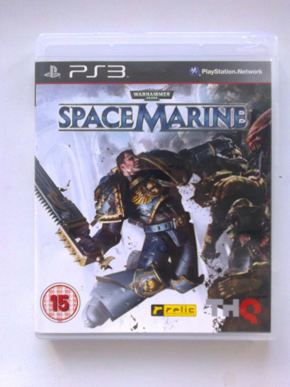 Видео игра Warhammer 40000: Space Marine (PS3) рус.