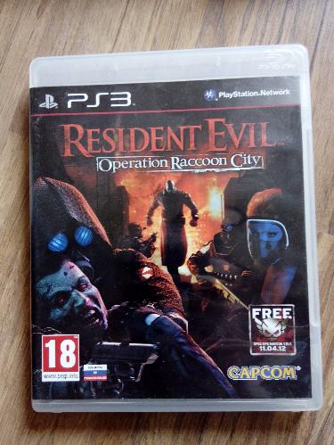 Видео игра Resident Evil: Operation Raccoon City (PS3) рус