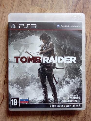 Tomb Raider (PS3) рус