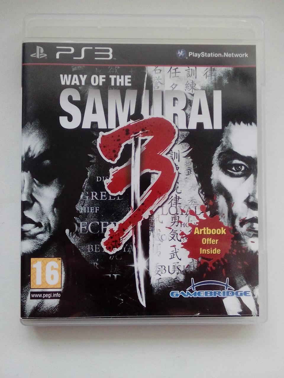 Way of the Samurai 3 (PS3)