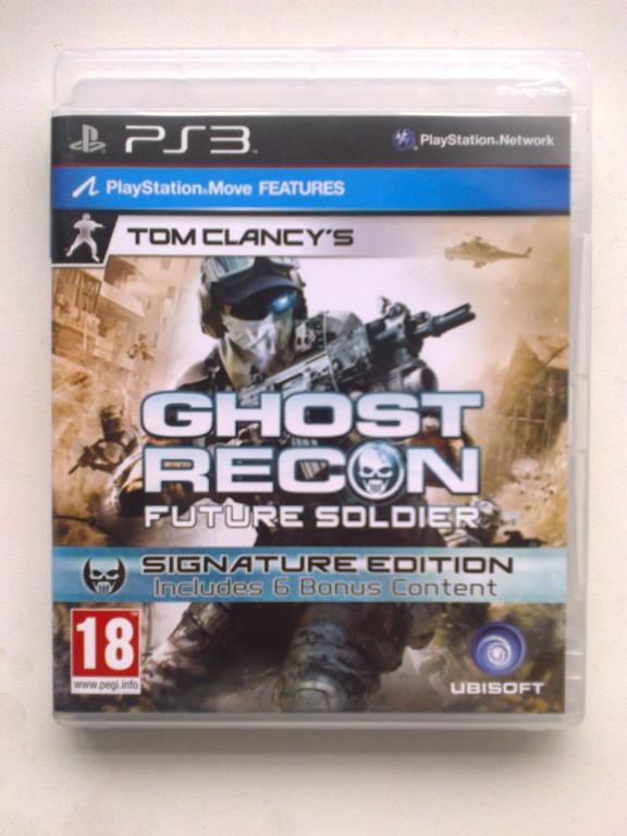 Видео игра Ghost Recon Future Soldier (PS3)