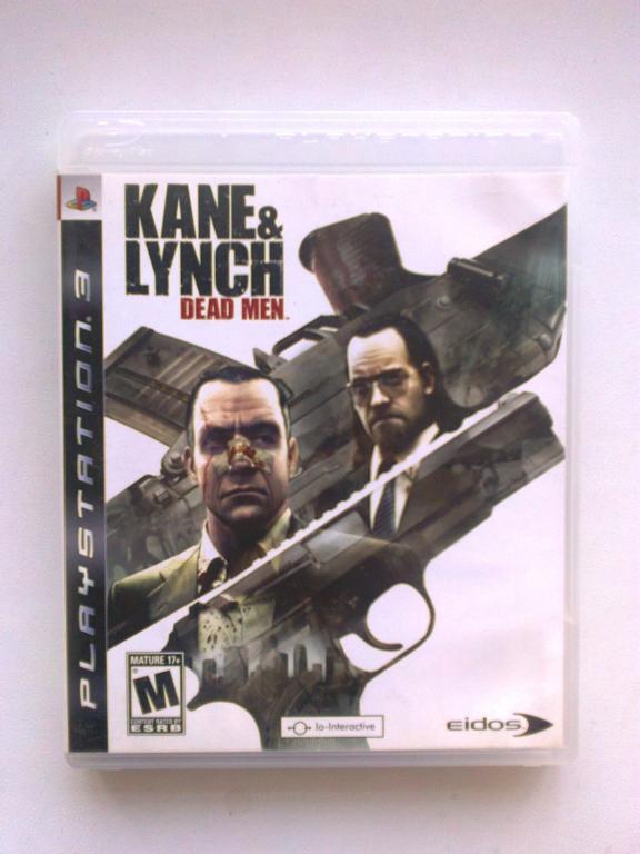 Видео игра Kane & Lynch (PS3)