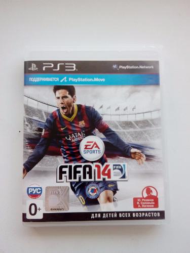 Видео игра FIFA 14 (PS3) рус.