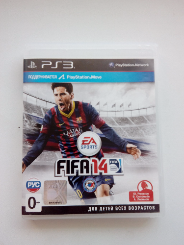 FIFA 14 (PS3) рус.