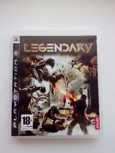 Видео игра Legendary (PS3)