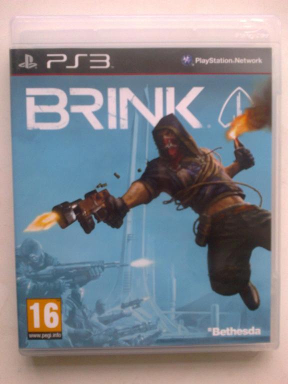 Видео игра Brink (ps3)