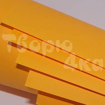 Бумага цветная А3 160 гр/м.кв cyber orange (кислотный оранжевый)