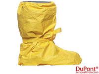 Бахилы до колен желтые DuPont (защита для ног)  TYCH-C-CSHSR Y