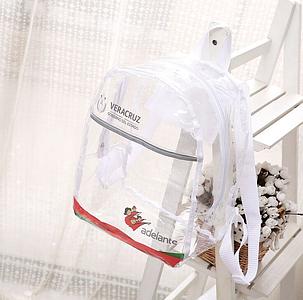 """Прозрачный силиконовый рюкзак """"Veracruz"""", фото 2"""