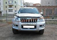 Дефлекторы капота Sim с надписью для Toyota Land Cruiser Prado 2002-09