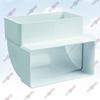 ФОТО: Колено вертикальное 90 градусов для плоских каналов