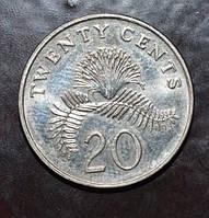 Сингапур 20 центов 1997 год (АЗ-19)