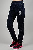 Зимние женские спортивные брюки 7179 Тёмно-синие