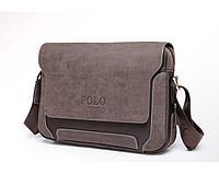 Мужская сумка Polo brown 8901-2