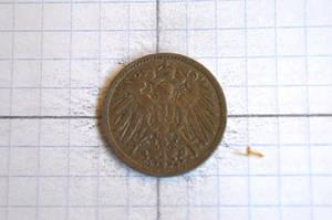 Германия. 10 пфеннигов 1908 г(АВ-18)