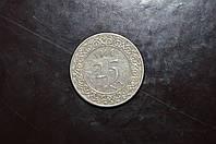 Суринам 25 центов 1966 год