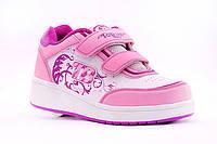 Роликовые кроссовки Хилисы 12h2 розовые 30 (19,5см) и 35 (22,5 см) размер