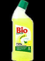 """Гель для чистки унитазов Лимон """" BioF """", 1000 мл."""