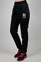 Зимние женские спортивные брюки 7180 Чёрные