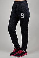 Зимние женские спортивные брюки 7181 Тёмно-серые