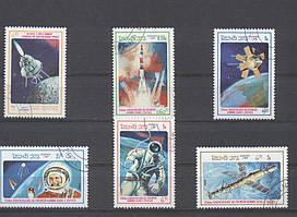 Лаос Космос 3 1986год серия