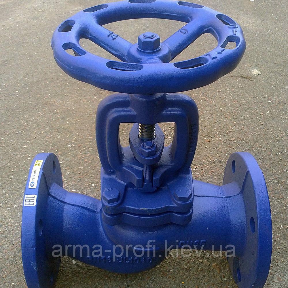 Вентиль Zetkama 215 запорный фланцевый Ду 65