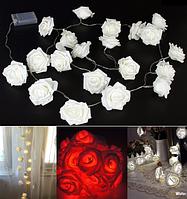 Светодиодная гирлянда Розы 2м 20LED