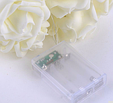 Светодиодная гирлянда Розы 2м 20LED на батарейках АА красные, фото 3