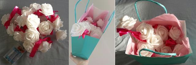 украшение подарков романтичная упаковка